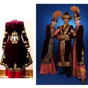 f4caec10730 Казахская национальная одежда